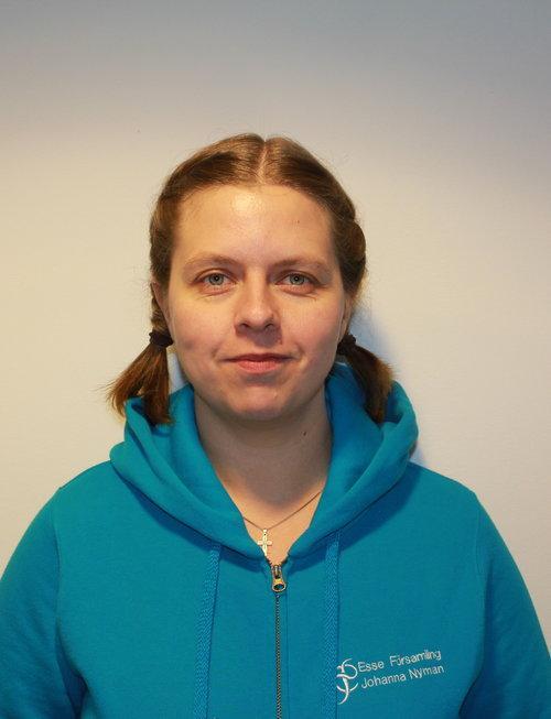 Johanna Nyman, församlingssekreterare